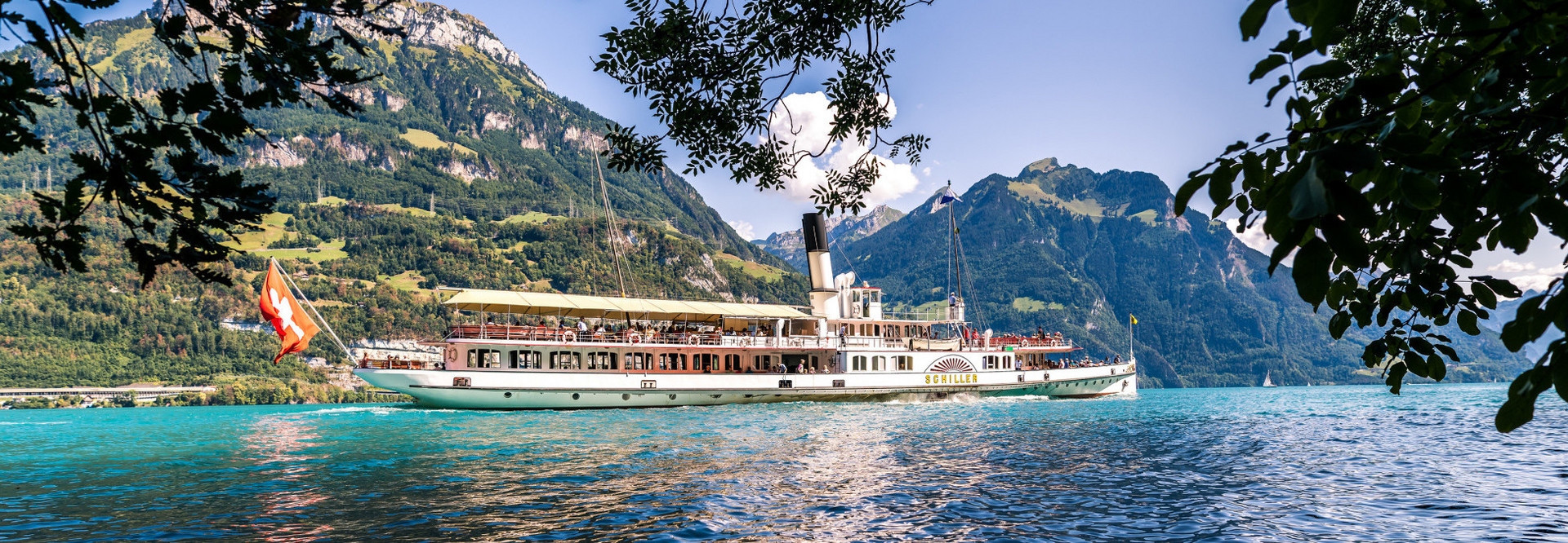 A round trip with the paddle steamer in the Lake Uri is an unforgettable experience.