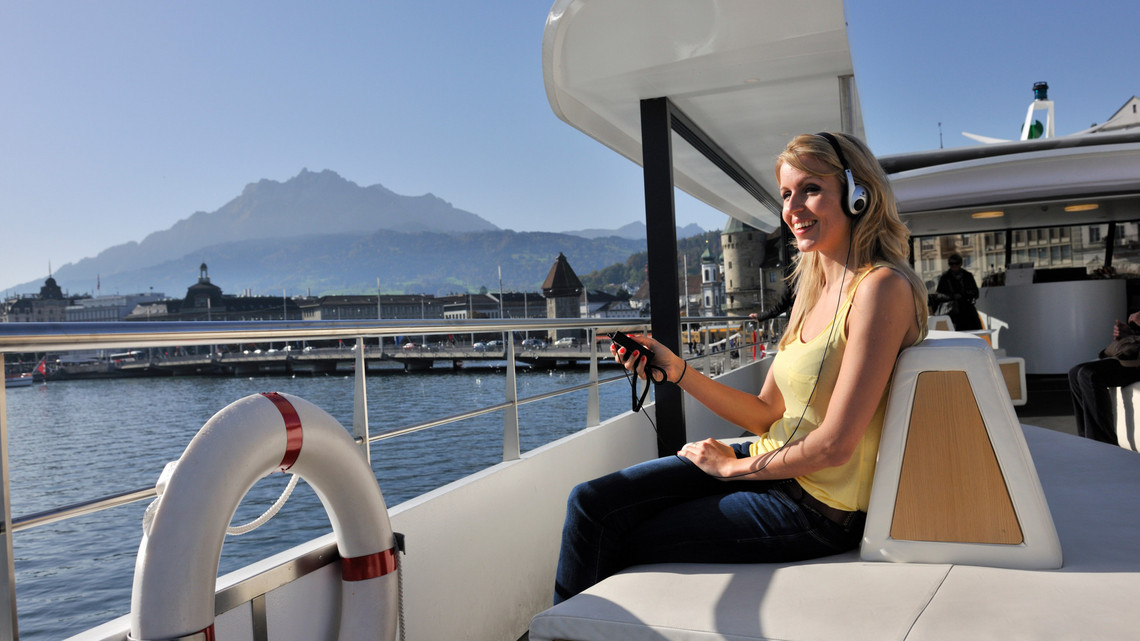 Audio-Guide MS Saphir - Bild lakelucerne.ch
