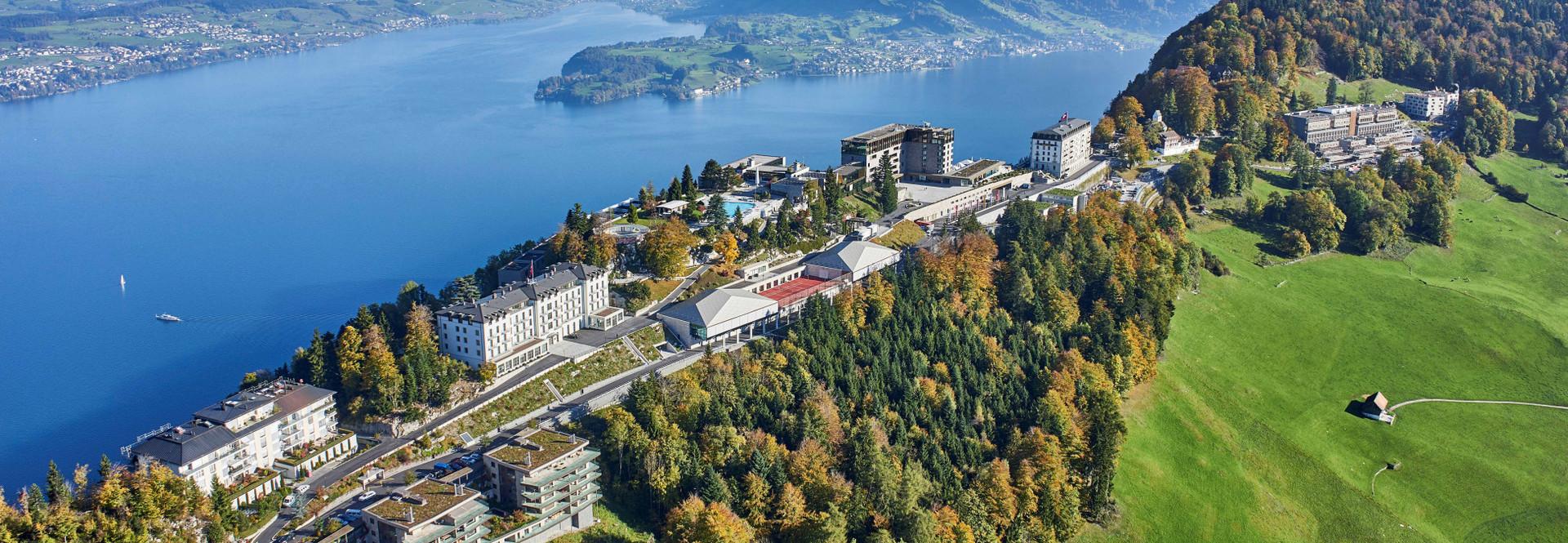 Resort Bürgenstock et lac des Quatre-Cantons