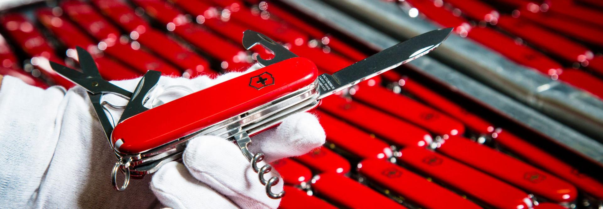 Rote Sackmesser von Victorinox