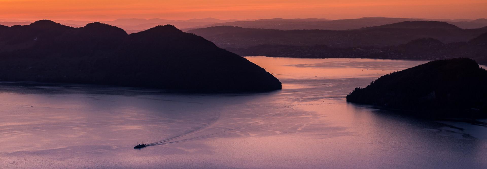 Sonnenuntergang Vierwaldstättersee